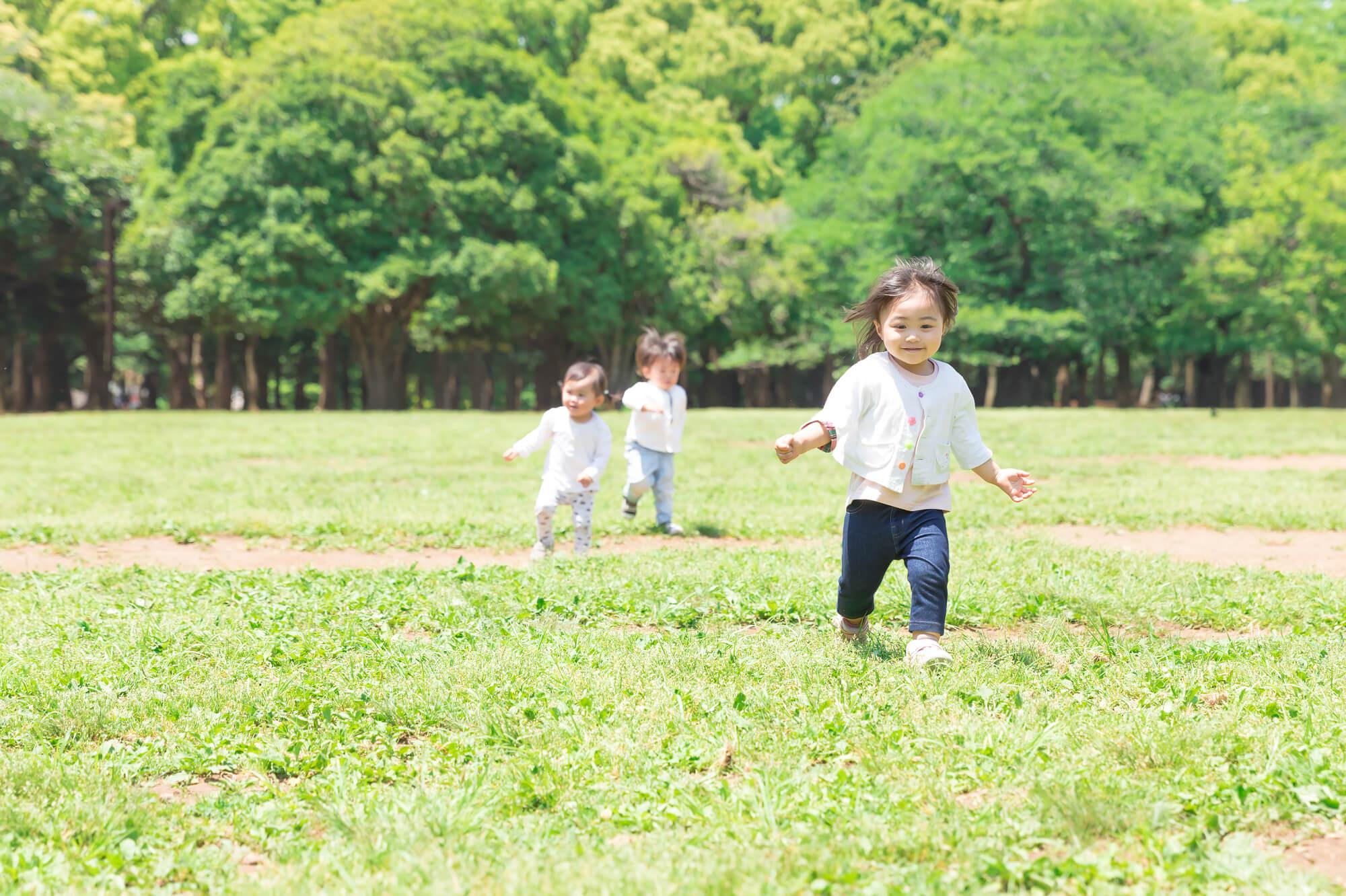 公園と子供たち