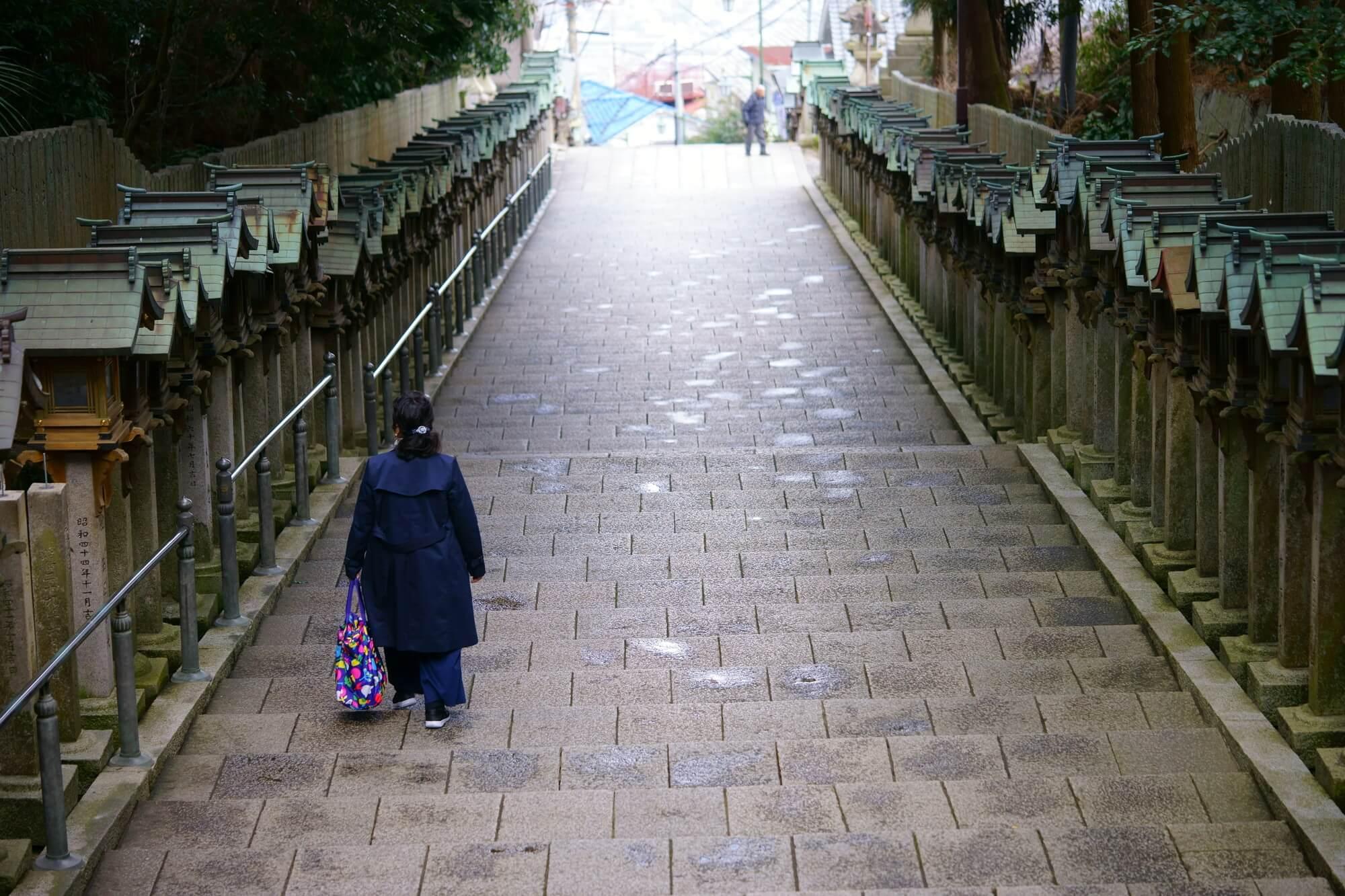 奈良県生駒市の風景