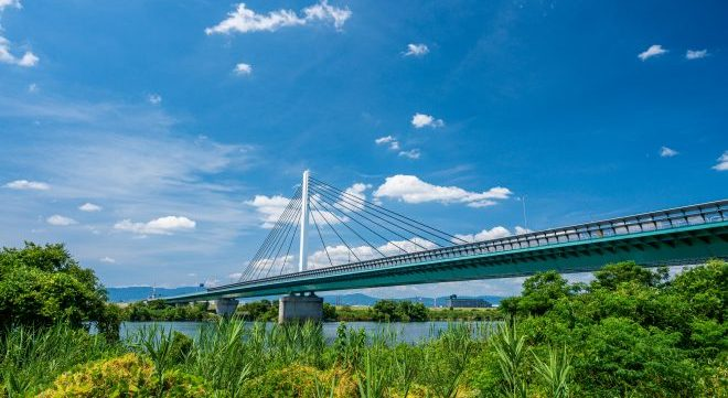 眺めの良い橋