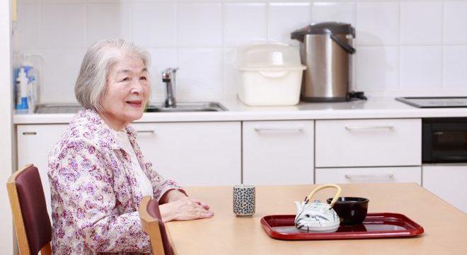 高齢者の食卓